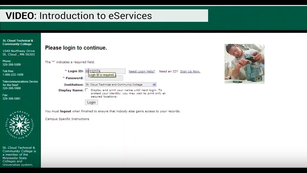 Intro to eservices
