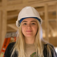 Hailey from SCTCC Carpentry